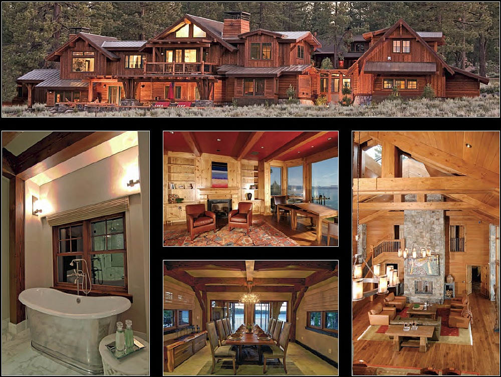 Examples of Griggs Custom Homes work as a custom home contractor in Lake Tahoe