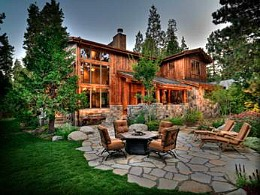 An example of Griggs Custom Home builders in Lake Tahoe